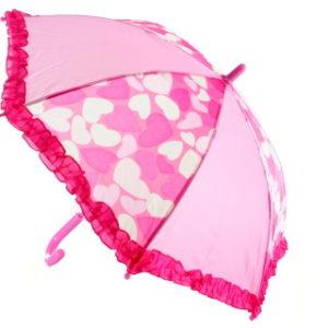 Deštník se srdíčky