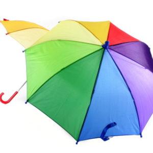 Duhový deštník
