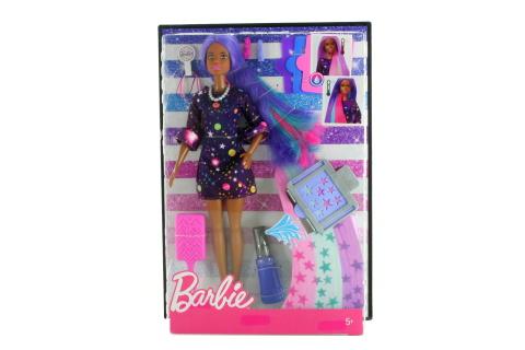 Barbie Barbie s žužu vlasy černoška FHX01
