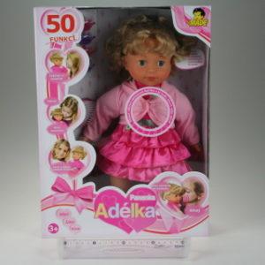 Panenka Adélka 40cm,50funkcí