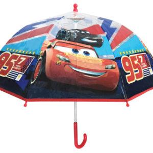 Deštník Cars 3 manuální průhledný