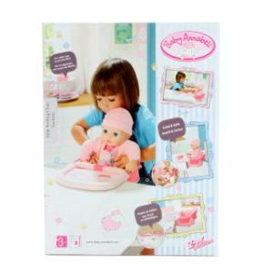 Baby Annabell® Jídelní židlička s uchycením na stůl