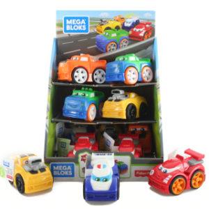 Mega Bloks závodní auta FLT32