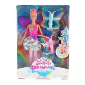 Barbie létající víla s křídly blondýnka FRB08