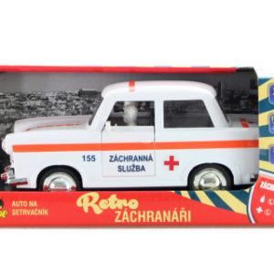 Auto retro záchranáři na setrvačník