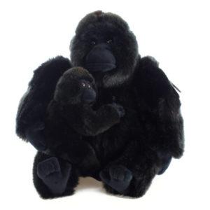 Plyš Gorila s mládětem