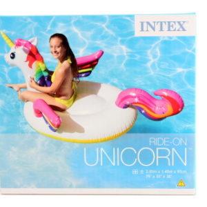INTEX Vodní vozidlo jednorožec 200 x 140 x 97 cm 57561