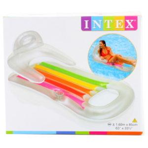 INTEX Lehátko s opěradlem 160 x 85 cm 58802