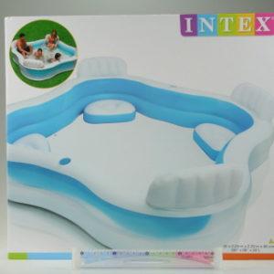 INTEX Bazén se sedátky 229 x 229 x 66 cm 56475