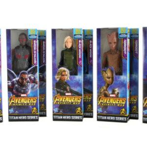 Avengers 30cm deluxe figurky s doplňky B