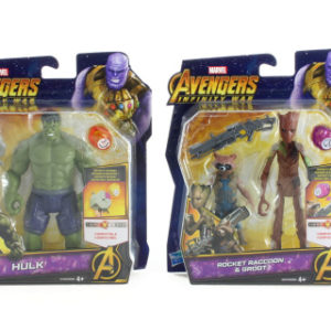Avengers 15cm deluxe figurky s doplňky A