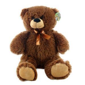 Plyš Medvěd tmavý 46 cm
