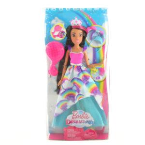 Barbie Vysoká dlouhovláska brunetka FXC81