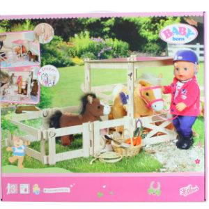 BABY born® Stáj pro koně