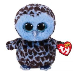 Beanie Boos YAGO 15 cm - modrá sova
