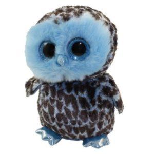 Beanie Boos YAGO 24 cm - modrá sova