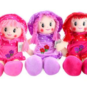 Hadrová panenka s čepicí