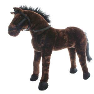 Plyš Kůň stojící 70 cm