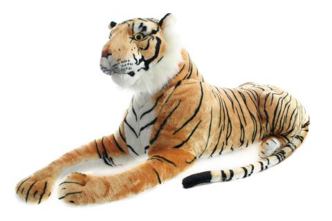 Plyš Tygr hnědý 110 cm