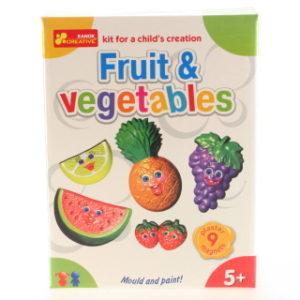 Výroba magnetů - ovoce a zelenina