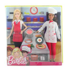 Barbie S kamarádkou kuchařka FCP64