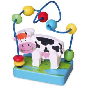 Dřevěný labyrint - kráva