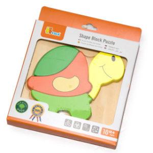 Puzzle pro nejmenší - želva
