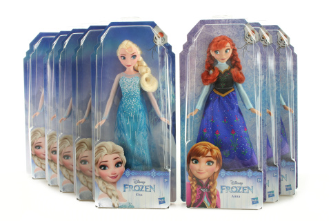 Frozen Klasická panenka