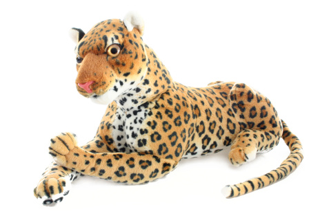 Plyš Leopard