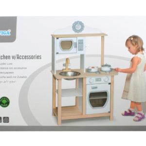 Dřevěná moderní kuchyňka