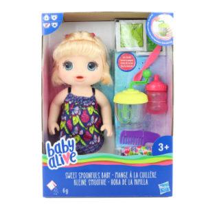 Baby Alive Blonďatá panenka s mixérem TV 1.10.-31.12.2018