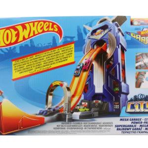 Hot Wheels City garáž se závodní dráhou FTB68