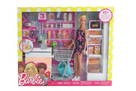 Barbie Supermarket herní set FRP01