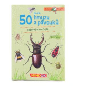 Expedice příroda: 50 druhů hmyzu a pavouků