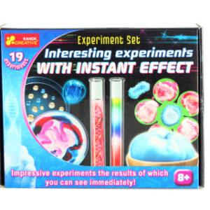Zajímavé experimenty s okamžitým efektem