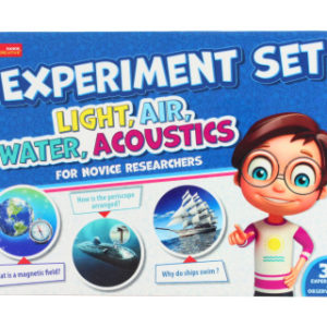 Experimenty se světlem, vzduchem, vodou a zvukem