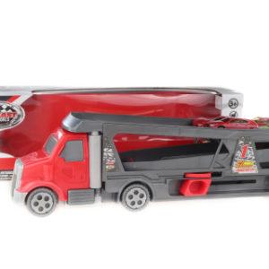 Vystřelovací kamion s přepravníkem včetne 4 autíček